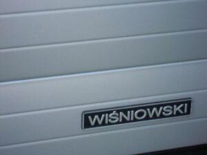 Brama przemysłowa roletowa Wiśniowski | ADAMS | WIŚNIOWSKI Salon Partnerski | Bramy / Okna / Drzwi / Ogrodzenia - Sprzedaż | Montaż | Serwis - Żary, lubuskie