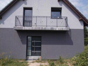 Balustrada Lux Wiśniowski | ADAMS | WIŚNIOWSKI Salon Partnerski | Bramy / Okna / Drzwi / Ogrodzenia - Sprzedaż | Montaż | Serwis - Żary, lubuskie