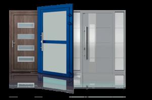 Drzwi zewnętrzne, drzwi aluminiowe, drzwi wewnętrzne Wiśniowski. Adams Salon partnerski Żary