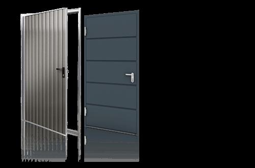 Drzwi boczne, drzwi stalowe Wiśniowski. Adams Salon partnerski Żary