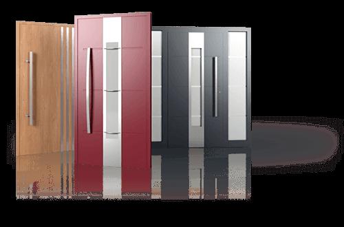 Drzwi aluminiowe, drzwi zewnętrzne, drzwi Creo Wiśniowski. Adams Salon partnerski Żary