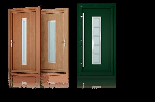Drzwi aluminiowe, drzwi zewnętrzne, drzwi Deco Wiśniowski. Adams Salon partnerski Żary