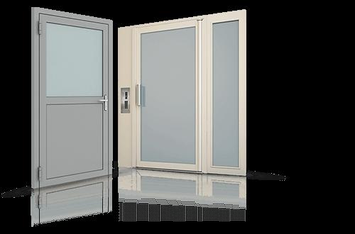 Drzwi stalowe, drzwi profilowe, drzwi zwenętrzne, drzwi wewnętrzne Wiśniowski. Adams Salon partnerski Żary