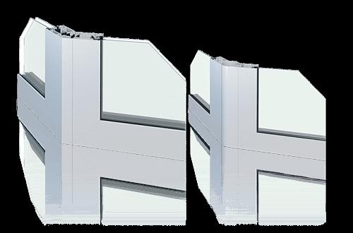 Ścianki stalowe, ścianki aluminiowe, stolarka Wiśniowski. Adams Salon partnerski Żary