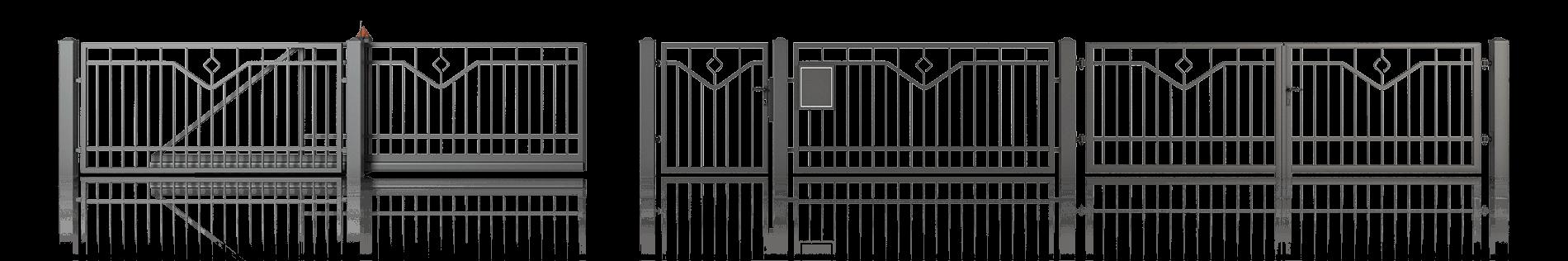 Ogrodzenie posesyjne Wiśniowski. Adams Salon partnerski Żary