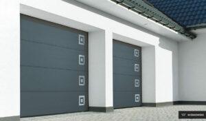 Bramy garażowe, brama segmentowa UniPro Wiśniowski. Adams Salon partnerski Żary
