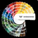 Paleta kolorów RAL Wiśniowski. Adams Salon partnerski Żary