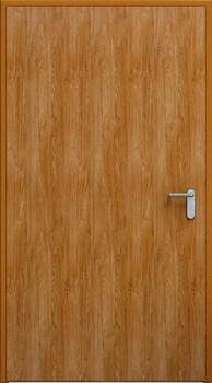 Drzwi ECO | Złoty dąb, ościeżnica RAL 8003