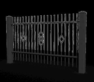 Ogrodzenia posesyjne, ogrodzenie, system Basic Wiśniowski. Adams Salon partnerski Żary