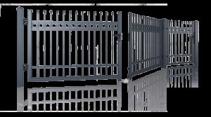 Ogrodzenia posesyjne, brama skrzydłowa, furtka Wiśniowski. Adams Salon partnerski Żary
