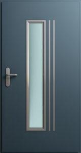 Drzwi MultiSecure, wzór MS1   RAL 7016