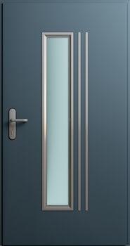 Drzwi MultiSecure, wzór MS1 | RAL 7016