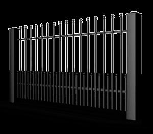 Ogrodzenia posesyjne, ogrodzenie, system Vario Wiśniowski. Adams Salon partnerski Żary