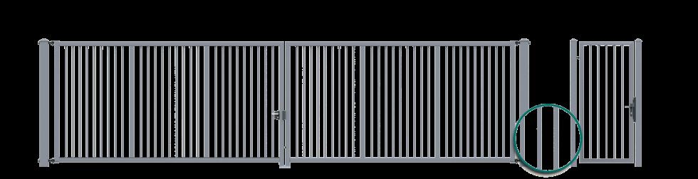 Ogrodzenia, system Bastion, Wiśniowski. Adams Salon partnerski Żary