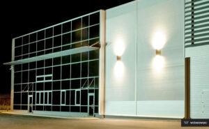Fasady aluminiowe, fasada, stolarka Wiśniowski. Adams Salon partnerski Żary