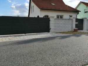 Ogrodzenia posesyjne, brama skrzydłowa, furtka, ogrodzenie Wiśniowski. Adams Salon partnerski Żary