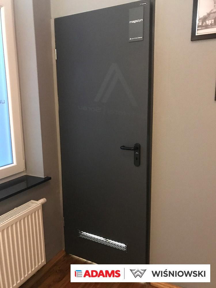 Drzwi wewnętrzne, stolarka Wiśniowski. Adams Salon partnerski Żary