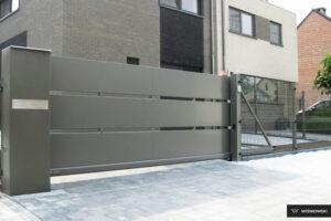 Brama przesuwna, ogrodzenia posesyjne, ogrodzenie Wiśniowski. Adams Salon partnerski Żary