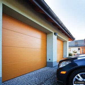 Bramy garażowe, brama segmentowa Wiśniowski. Adams Salon partnerski Żary