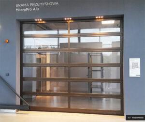 Bramy przemysłowe, brama segmentowa Wiśniowski. Adams Salon partnerski Żary