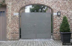 Brama skrzydłowa, furtka, ogrodzenia posesyjne, ogrodzenie Wiśniowski. Adams Salon partnerski Żary