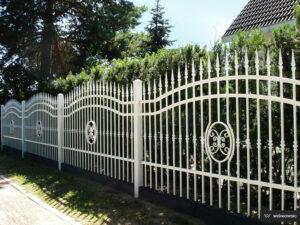 Ogrodzenia posesyjne, ogrodzenie Wiśniowski. Adams Salon partnerski Żary