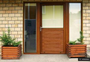 Drzwi zewnętrzne, drzwi aluminiowe, drzwi Plus Line Wiśniowski. Adams Salon partnerski Żary