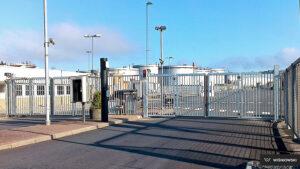 Brama składana V-King, brama przemysłowa Wiśniowski. Adams Salon partnerski Żary