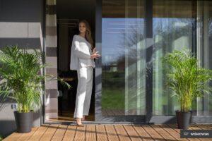 Drzwi tarasowe, drzwi PVC, drzwi Primo, Wiśniowski. Adams Salon partnerski Żary