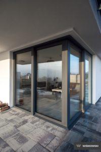 Drzwi tarasowe, drzwi aluminiowe, drzwi Futuro, Wiśniowski. Adams Salon partnerski Żary