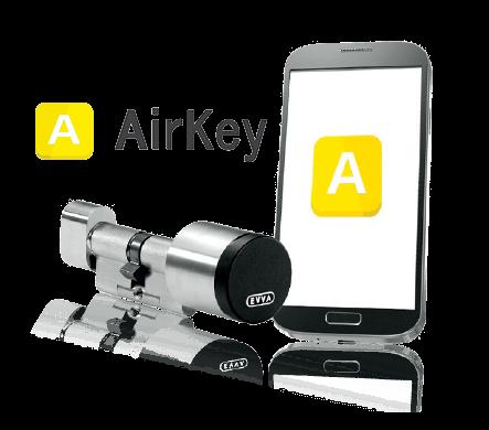 AirKey, technologie inteligentne Wiśniowski. Adams Salon partnerski Żary