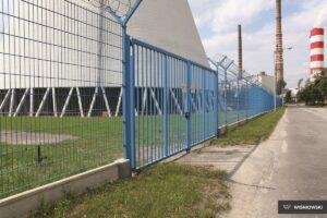 Ogrodzenie przemysłowe, panele kratowe 2D Wiśniowski. Adams Salon partnerski Żary