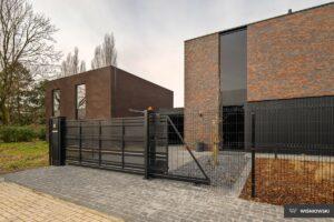 Ogrodzenie posesyjne, panele ogrodzeniowe, brama przesuwna Wiśniowski. Adams Salon partnerski Żary