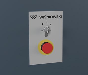 Ogrodzenia przemysłowe, brama przesuwna, seria Pi Wiśniowski. Adams Salon partnerski Żary