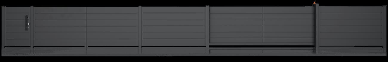 Ogrodzenie posesyjne, system Home Inclusive Wiśniowski. Adams Salon partnerski Żary