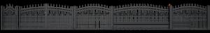 Ogrodzenia posesyjne, ogrodzenie, system Lux Wiśniowski. Adams Salon partnerski Żary