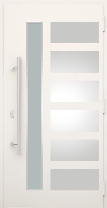 Drzwi aluminiowo-stalowe, drzwi zewnętrzne, Nova Wiśniowski. Adams Salon partnerski Żary