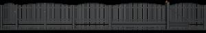 Ogrodzenia posesyjne, ogrodzenie, system Premium Wiśniowski. Adams Salon partnerski Żary