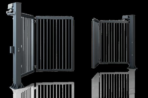Ogrodzenia przemysłowe, brama składana V-King Wiśniowski. Adams Salon partnerski Żary