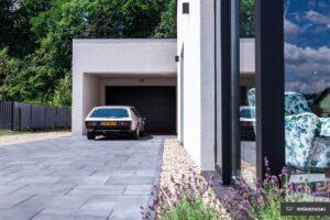 Bramy garażowe, brama segmentowa UniTherm Wiśniowski. Adams Salon partnerski Żary